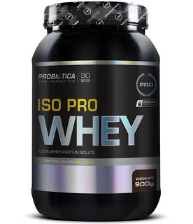 Iso Pro Whey 900g Chocolate Probiótica