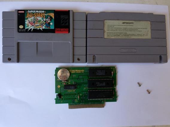 Super Mario All Stars Original Para Super Nintendo Salvando
