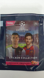 Figuritas Champions League 2019/20 Topps Pack X 25 Sobres
