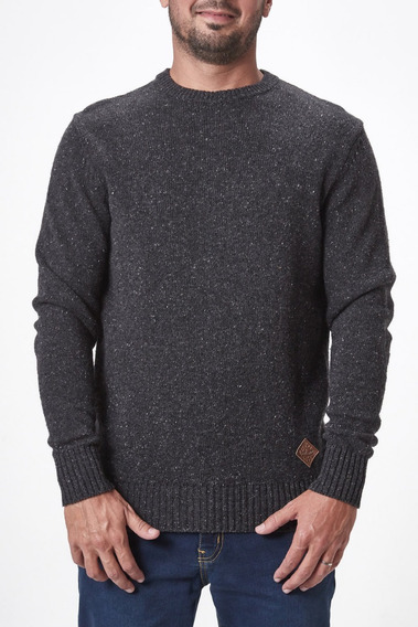 Sweater Volcom Hombre Solid Buttone
