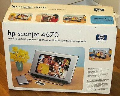 Scanner Hp Scanjet 4670 Novo Na Caixa