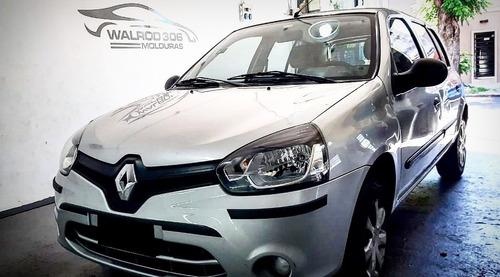 Renault Clio Mio Combo Baguetas + Protectores De Paragolpes