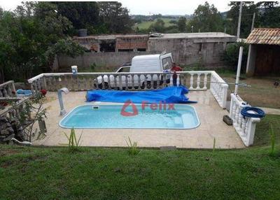Rancho Com Piscina Em Caçapava - 500 M² - Ch0068