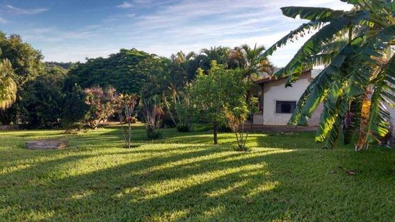 Chácara Com 2 Dormitórios À Venda, 1000 M² Por R$ 550.000,00 - Parque Da Represa - Paulínia/sp - Ch0087