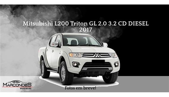 Mitsubishi L200 Triton 3.2 Gl 4x4 Cd 16v Turbo Intercoler D