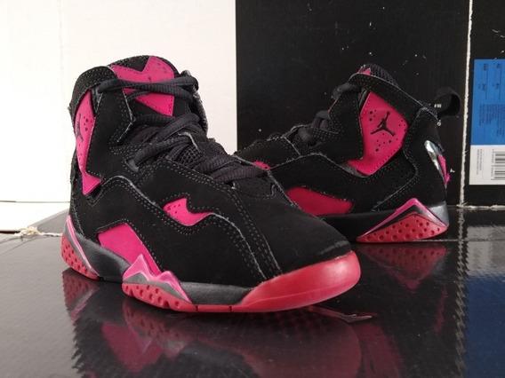Jordan True Flight (17cm) Pink Retro 7 Infrared Zoom Playoff