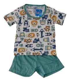 c2c6372b83bd59 Pijama Bebe Masculino Izi Dreams Tamanho 1 Lindo Confortável