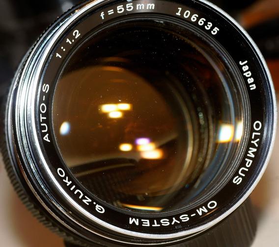 Olympus Auto-s 55mm 1.2 Para Canon Ef O Sony E