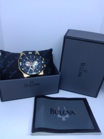 Bulova Marine Star Rose Gold Cronógrafo