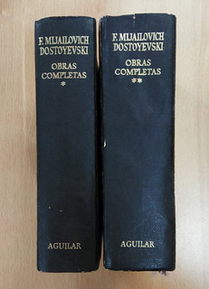 Dos Libros F. Mijailovich Dostoyevski Obras Completas
