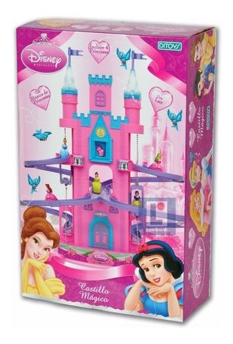 Imagen 1 de 2 de Castillo Magico Princesas Disney Con Luz Y Sonido