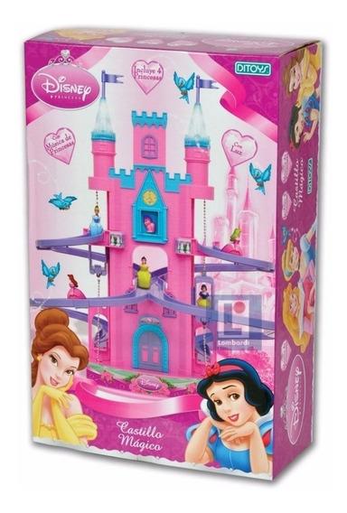 Castillo Magico Princesas Disney Con Luz Y Sonido