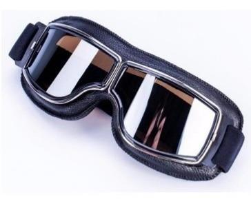 Óculos Google Estilo Aviador Old School Harley Drag Shadow