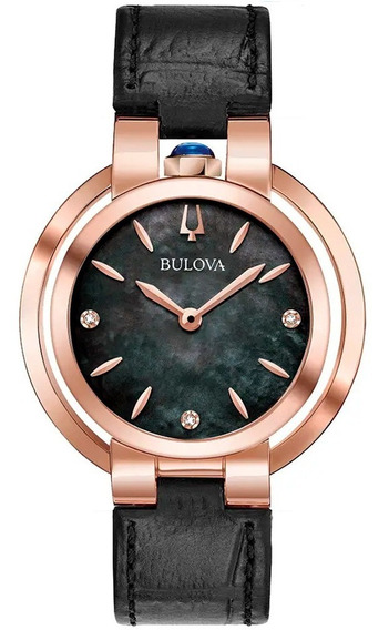 Relógio Bulova Feminino Rubaiyat 97p139 Diamond Original