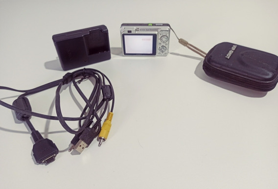 Câmera Digital Sony Steady Shot Cyber Shot/dsc-w130