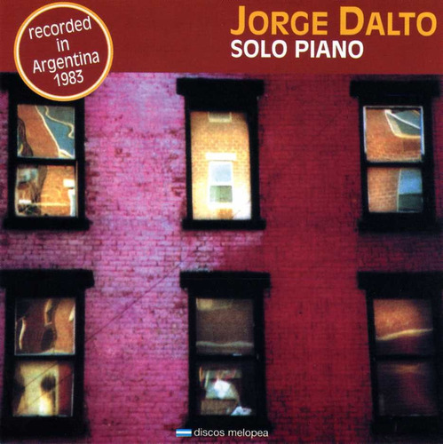 Jorge Dalto - Solo Piano - Cd