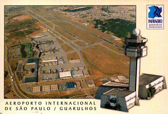 Cgh-10978 Postal Sao Paulo, S P- Aeroporto Guarulhos