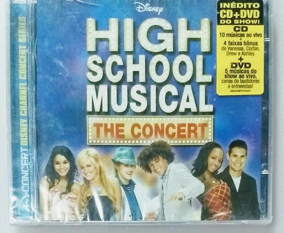 Cd Dvd High School Musical The Concert - Novo/lacrado