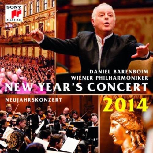 Cd Barenboim/wiener Philarmoniker News Years Concert 2014
