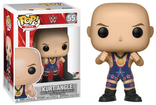 Funko Pop! Wwe: Wwe - Kurt Angle (ring Gear) No 55