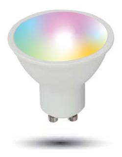 Lámpara Dicroica Led Rgb Smart Wifi Tuya 3,5w Gu10