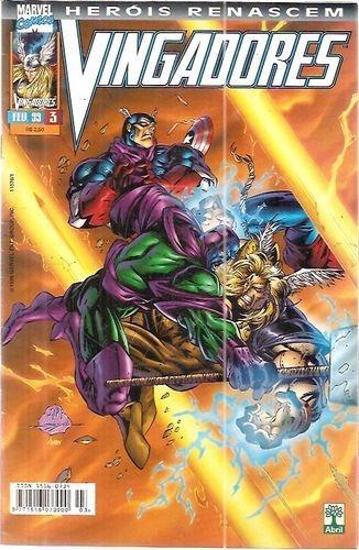 Gibi Vingadores Vol. 03 - Heróis Re Não Informado