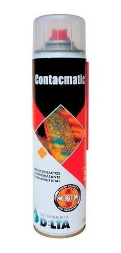 Imagen 1 de 2 de Limpia Contactos Contacmatic Delta 440cc 350g Cg Ionlux
