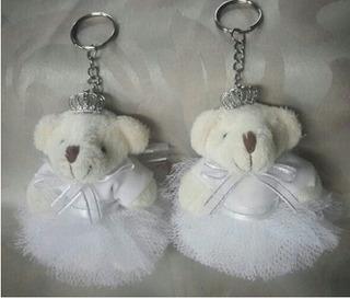 Chaveiro Urso Bailarina