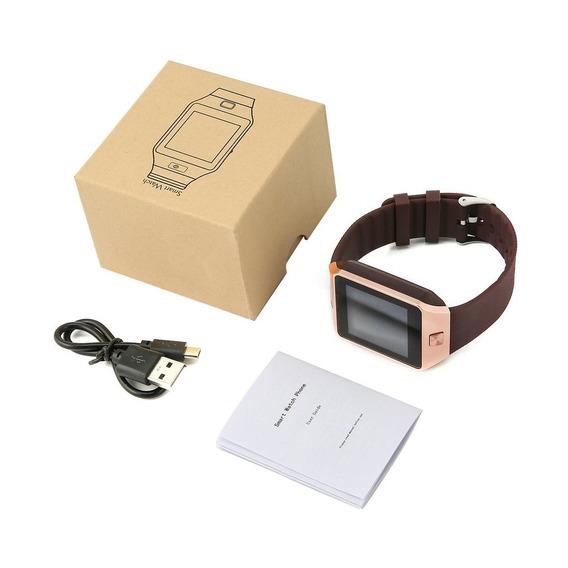 Reloj Inteligente Con Cámara Bluetooth Tarjeta Sim Reloj Muñ