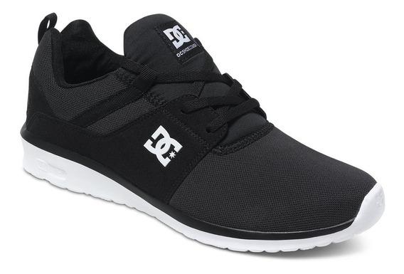 Zapatillas Dc Shoes Mod Heathrow Negro Blanco!coleccion 2019