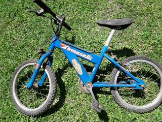 Bicicleta Rodado 16. Muy Buena Calidad. Cuadro Muy Robusto