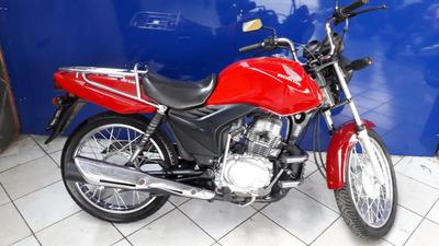Honda Cg125 Cargo Vermelha 2010