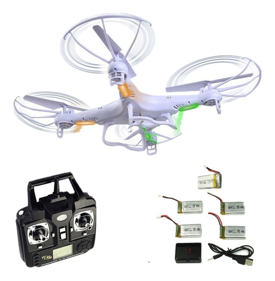 Drone Syma X5c Camera 2mp Foto Video 5 Baterias Original