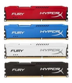 Memória 4gb 1600mhz Ddr3 Kingston Hyperx Fury