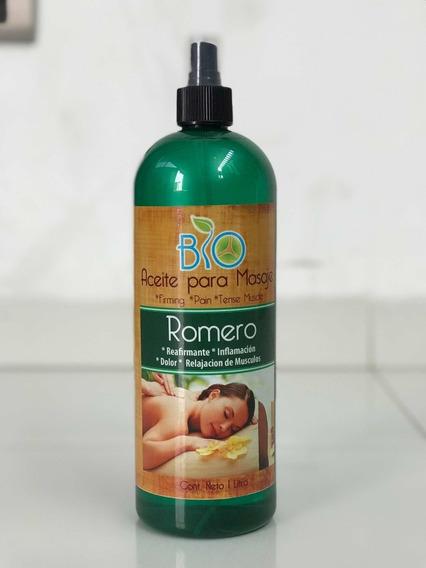 Aceite Para Masaje De 1 Litro Romero Relajante De Músculos