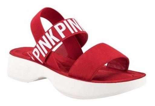 Sandalia Pink By Price Shoes 829522 3.5cm Suela Corrida