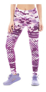 Calzas Touche Deportivas Mujer Sport Lycra Mujer Gym Ls 387
