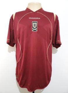 Camisa Futebol Oficial Seleção Escócia 2007 Diadora Third