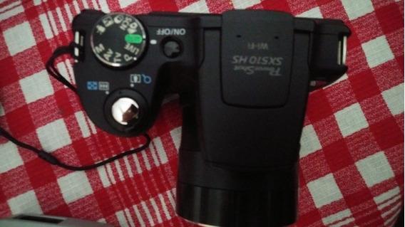 Câmera Canon Semiproffisional Sx510hs Wifi