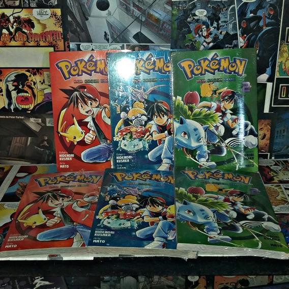 Pokemon Red, Green E Blue
