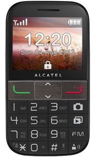 Celular Do Idoso Alcatel 2001 Radio Fm Lanterna Sos Outlet