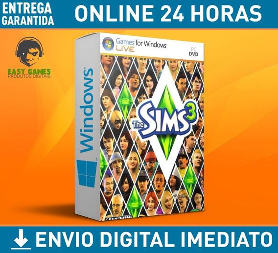 The Sims 3 + Todas Expansões + Completo + Envio Imediato
