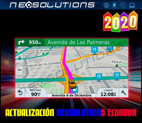 Mapas Actualizados De Ecuador 2020 Gps Garmin Nuvi Drive Etc