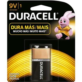 Kit 6 Bateria 9v Duracell Para Microfone Controle Rádio