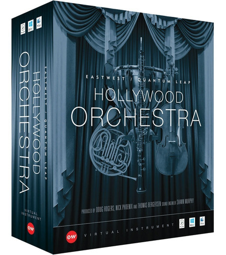 Eastwest Hollywood Orchestra Gold Edition Original