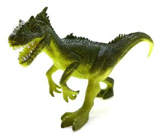 Dinosaurio Goma N57 Allosaurus Medio 20cm Dino Juguete