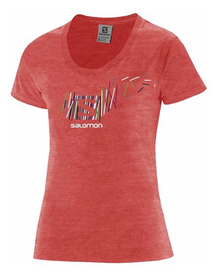 Remera Salomon - Niños - Logo Ss Tee K - Casual