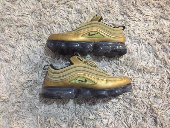 Nike Vapormax 97 gold