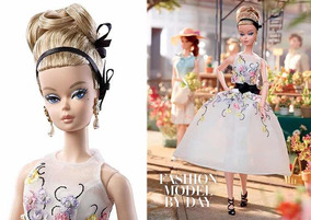 Barbie Silkstone Classic Cocktail Dress Poseable- Articulada
