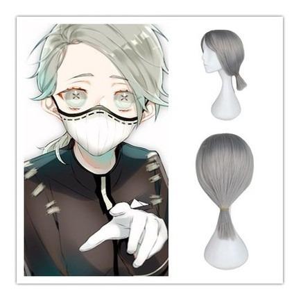 Peluca Gris Anime Identity V Quinta Personalidad Fifth Wig